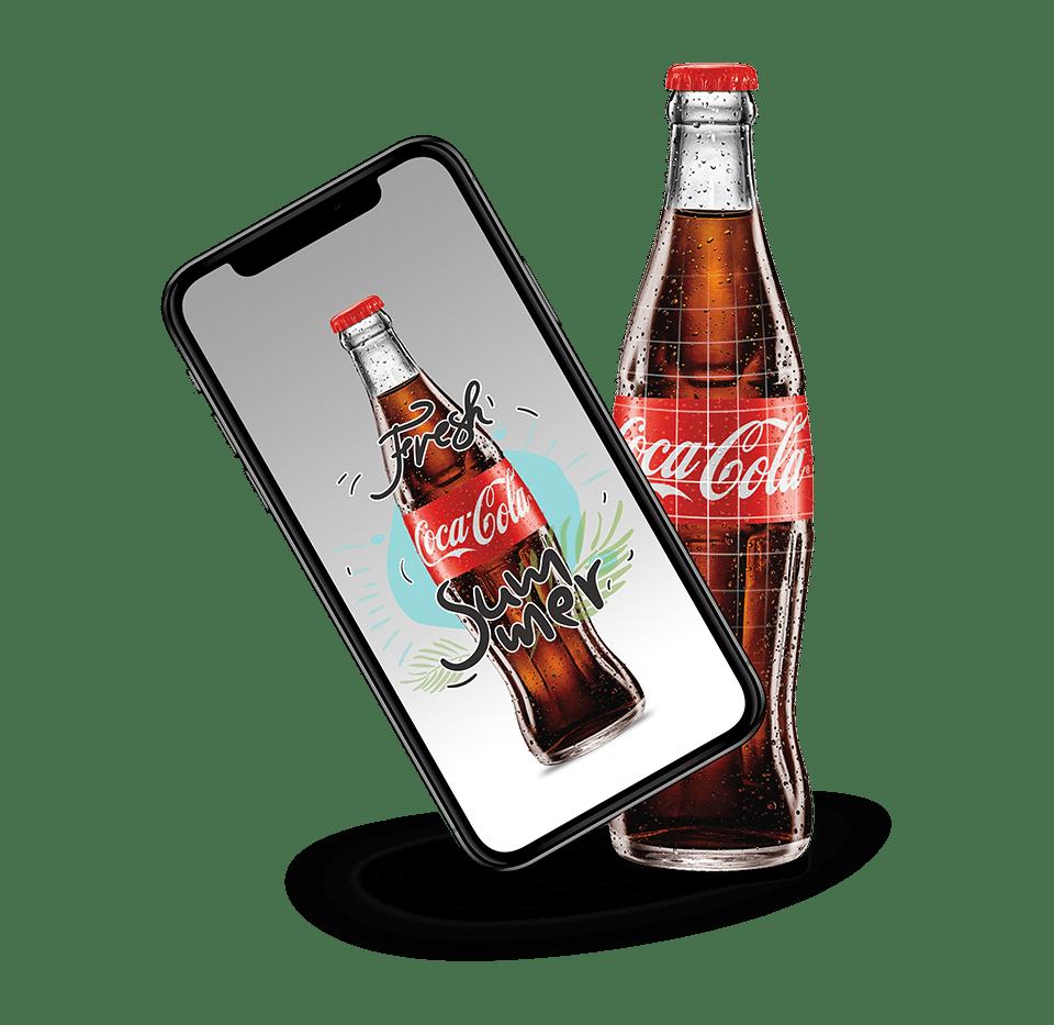 realidad aumentada coca cola