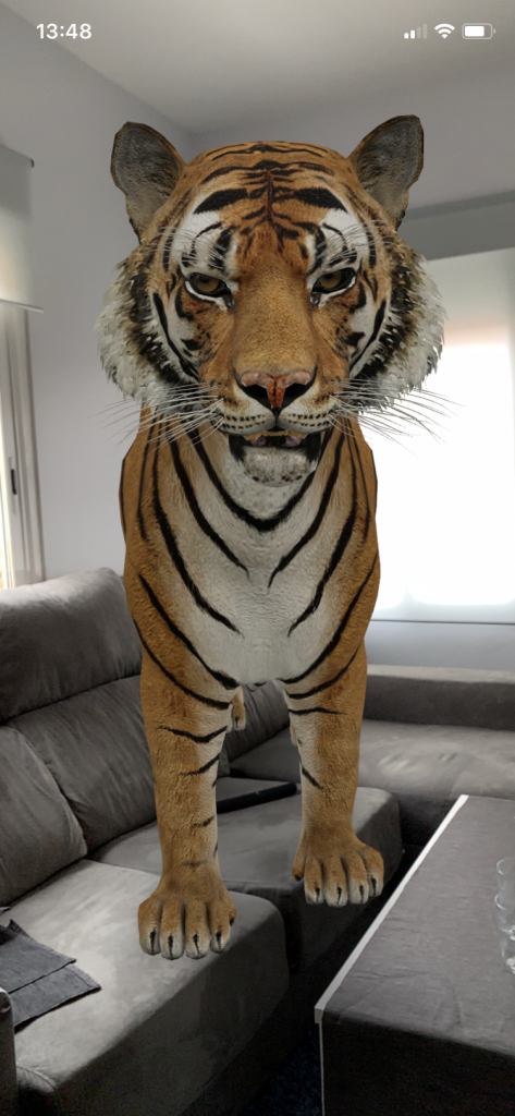 Tigre animal 3D de Google