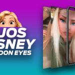 filtro instagram cartoon princess ojos disney lil cartoon face