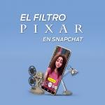 Conviértete en personaje de Pixar con este filtro de Snapchat