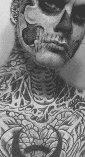 "Filtro de tatto de maximkuzlin, ""Zombie Boy"""