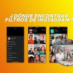 Buscador de filtros instagram